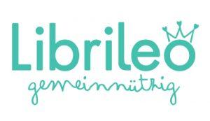 Librileo-gemeinnuetzig-Logo-tuerkis